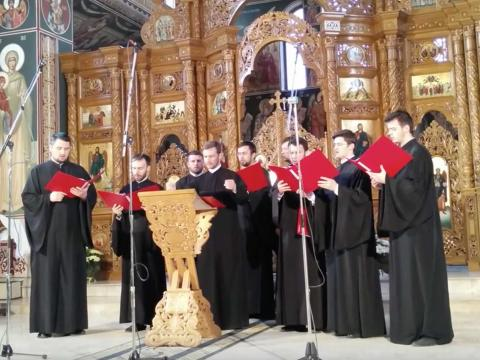 """Chivotul"" Psaltic Choir of the Metropolitan Cathedral of Iasi"